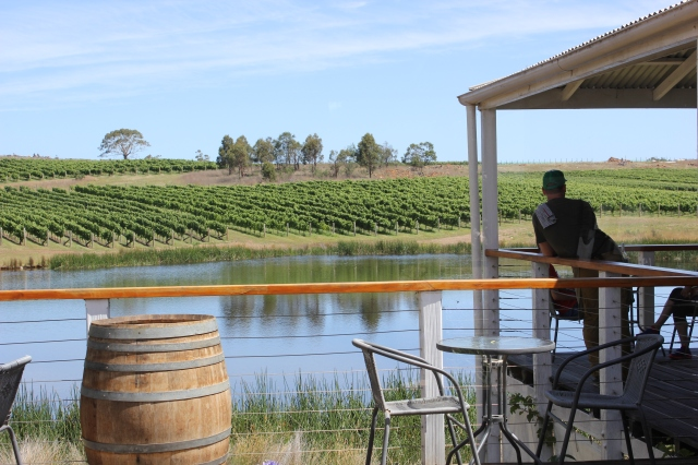 Tasmania has lots of little vineyards which are simply delightful. Places that you would be happy to just sit and while away a whole day