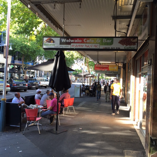 African street, Footscray
