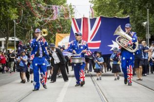 Australia Day, Melbourne, 26th Jan